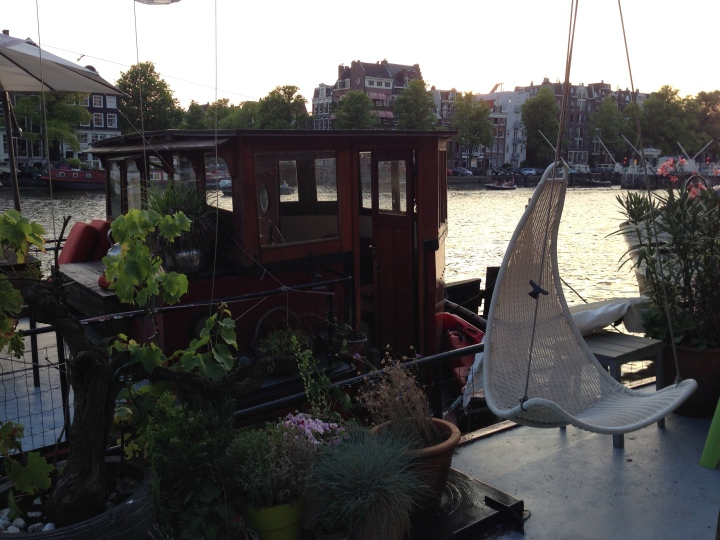 Houseboat-Deck