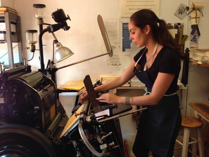 Eva-letterpress