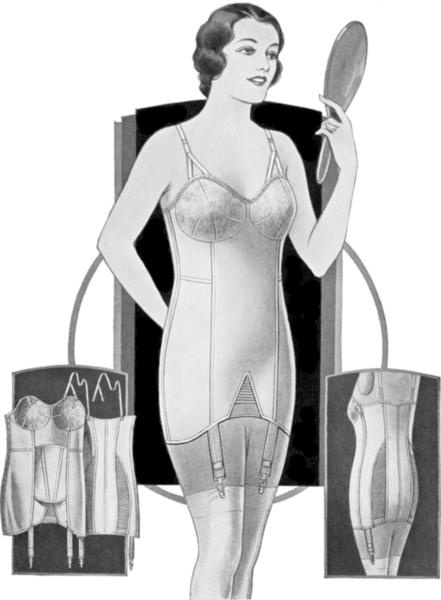 Vintage-Brassiere-Girdle-mirror