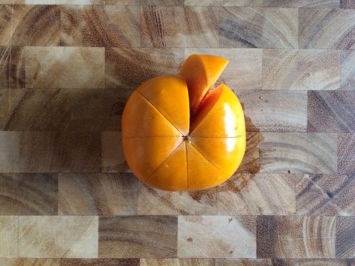 persimmon-sliced