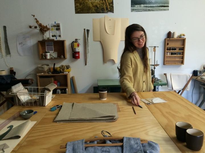 Geana-at-work