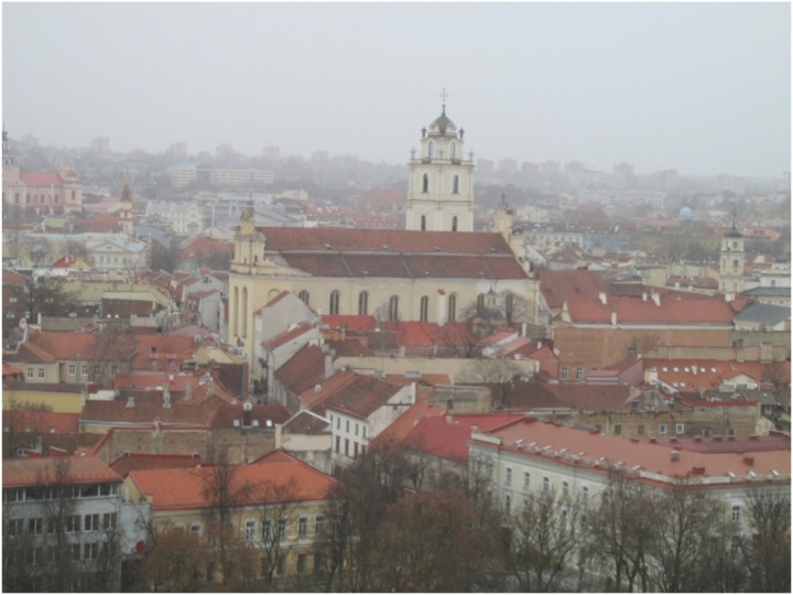 Vilnius-rooftops