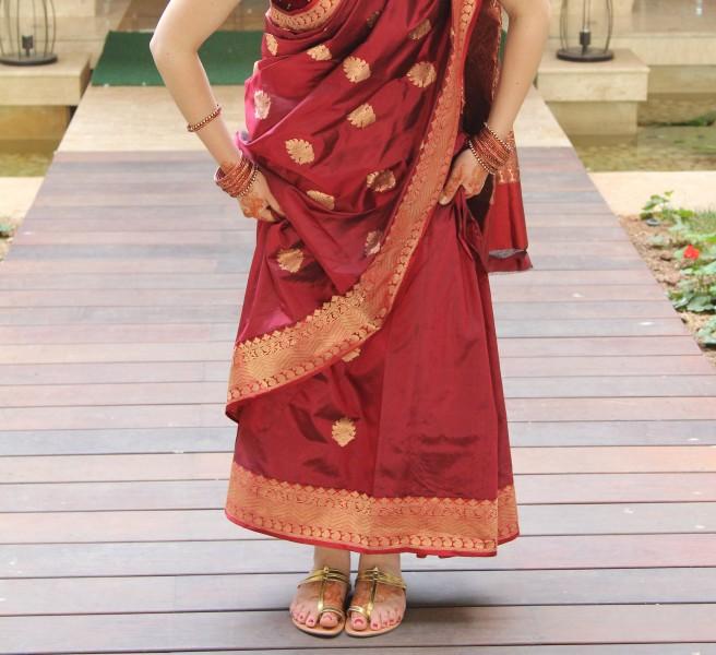 sari-sandals