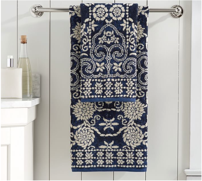 Pottery-Barn-Indah-Jaquard-towels