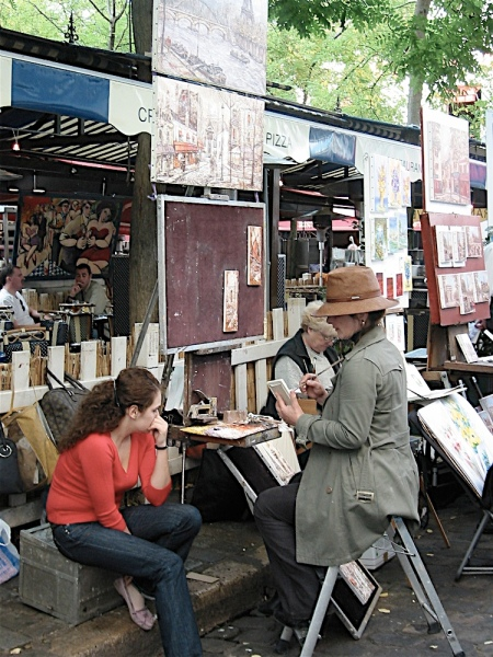 Montmartre-painting