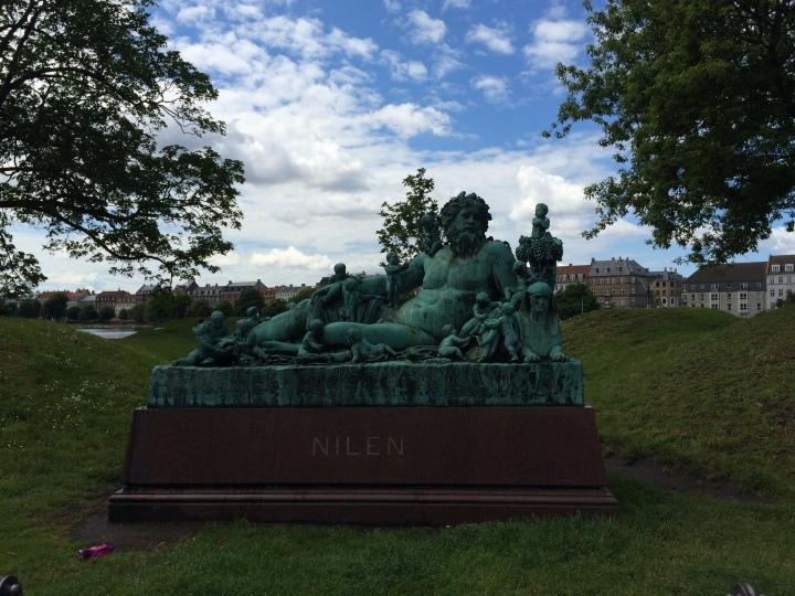 Copenhagen-statue