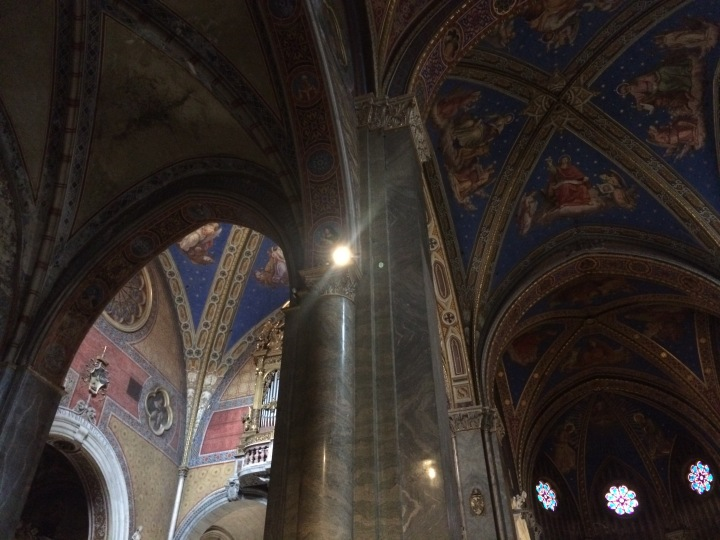 church-ceiling-rome