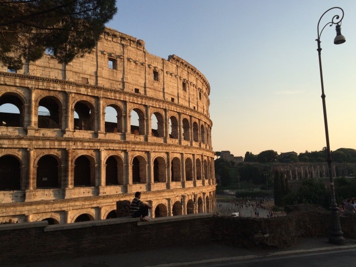 Colosseum-magic-hour