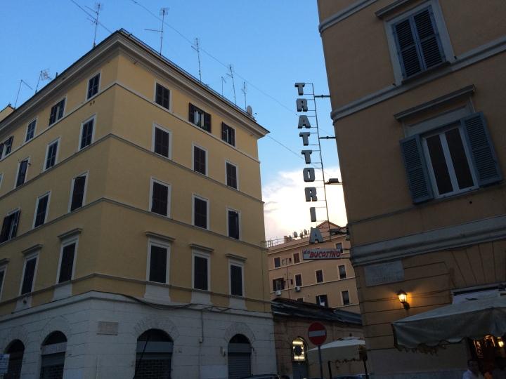 Rome-trattoria
